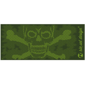 rie:sel design bot:tle 500ml skull honeycomb green